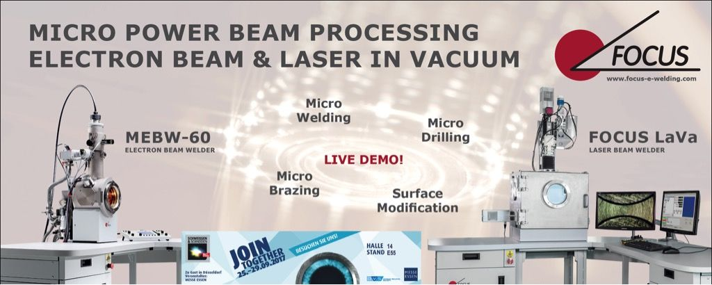 Live Demo: Laser in Vacuum and Electron Beam!
