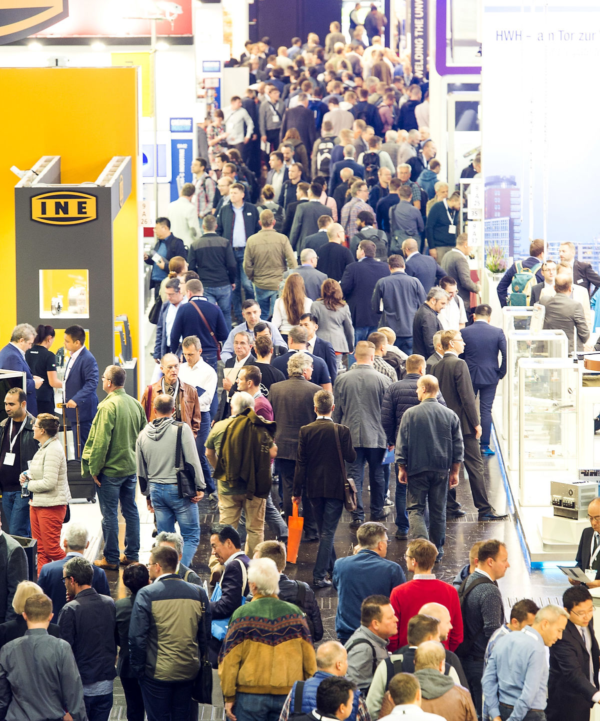 Plenty of exhibitors have already registered for the world's leading fair for joining, cutting and surfacing technology